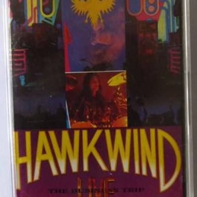 Hawkwind  ? The Business TripLabel:Emergency Broadcast System  ? EBSMC 111Format:Cassette, AlbumCountry:UKReleased:1994Genre:RockStyle:Space Rock - The Business Trip