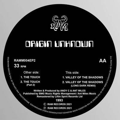 Origin Unknown - The Touch / Valley of the Shadows