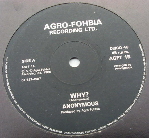 Anonymous - Why / Why (Version)