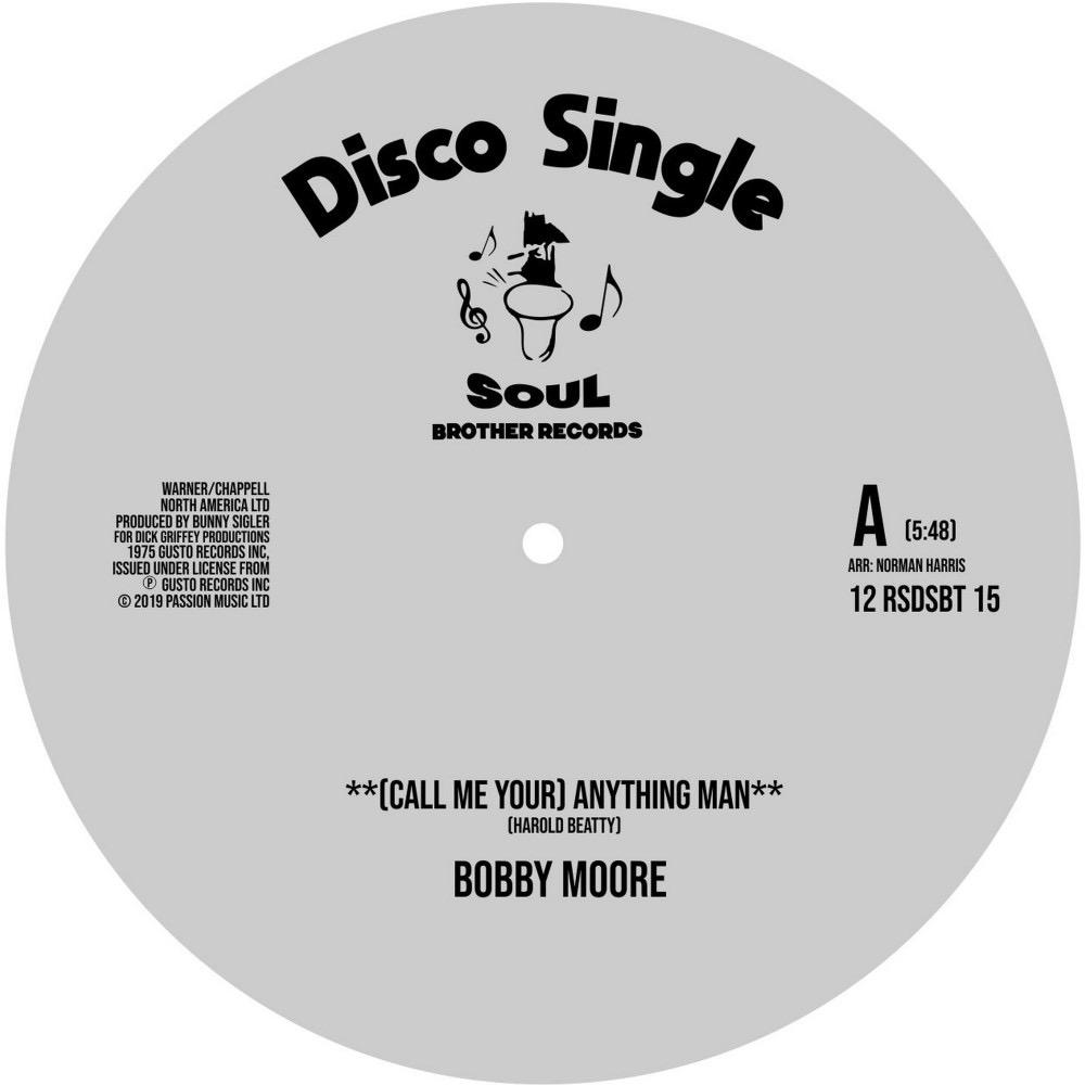 Bobby Moore / Sweet Music - (Call Me Your) Anything Man / I Get Lifted